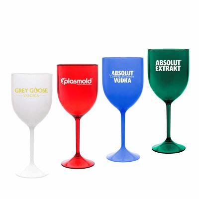 Taça de drink e vinho - Bordô - Plasmold