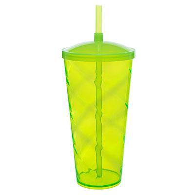 Copão Twister 1 litro com canudo