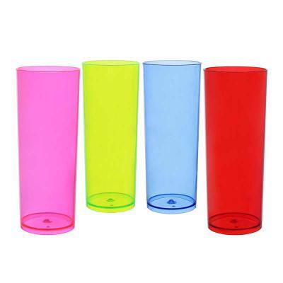 plasmold - É um modelo padrão de Copo Long Drink sendo ideal para personalizar e servir drinques e bebidas em geral.  Características: •Fabricado em poliestireno...