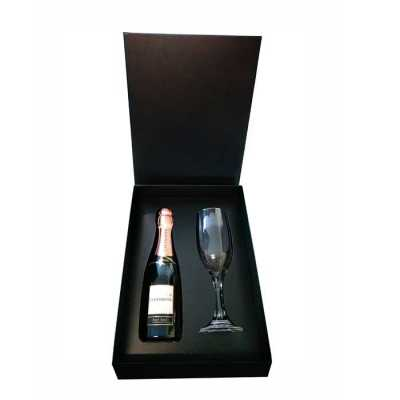 KIT ESPUMANTE BABY CHANDON ROSE BASIC - A&B Kits Corporativos