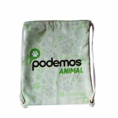 Rnaza Prana Material Promocional - Mochila saco com cordão