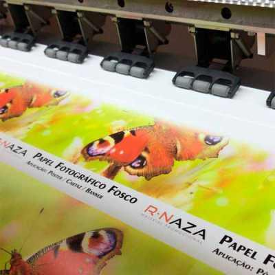 Adesivo com impressão digital de alta definição - Rnaza Prana Material Promocion...