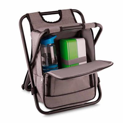 Bolsa mochila térmica com cadeira