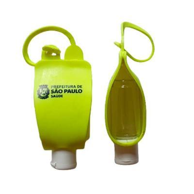Chaveiro Porta Álcool Gel