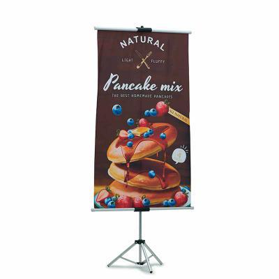 Rnaza Prana Material Promocional - Banner em tecido microfibra com tripé retrátil