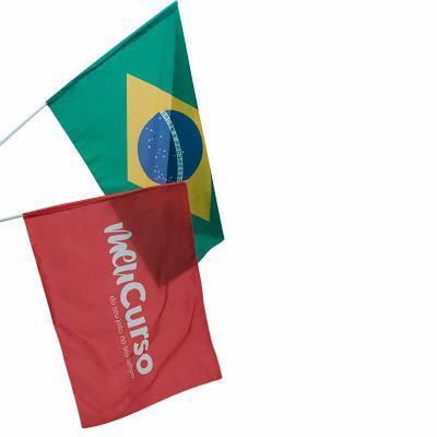 Bandeira em tecido com impressão digital - Rnaza Prana Material Promocion...