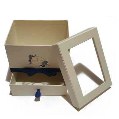Caixa em cartão rígido (cartonagem) com gavetinha - Rnaza Prana Material Promocion...