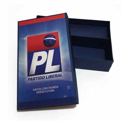 Embalagem em cartão rígido com impressão de alta qualidade - Rnaza Prana Material Promocion...