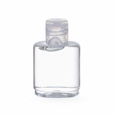 Álcool gel em frasco plástico com 35ml. Composição: Aqua, Hydroxyethylcellulose, Aloe Barbadensis...