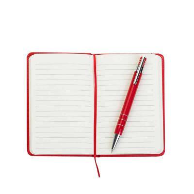 Conjunto Caneta e Caderneta