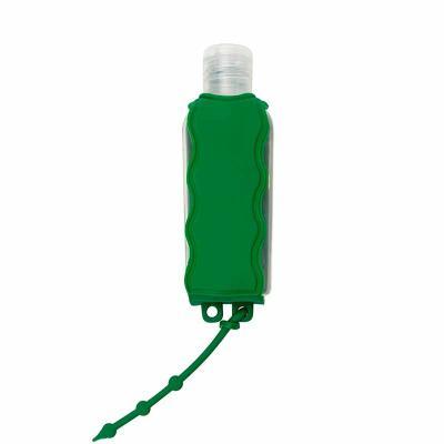 Porta álcool gel, material emborrachado com capacidade para frasco de 60ml. Observação: NÃO ACOMP...
