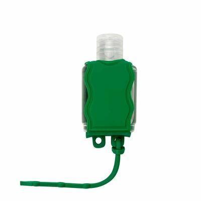 Porta álcool gel, material emborrachado com capacidade para frasco de 35ml. Observação: NÃO ACOMP...