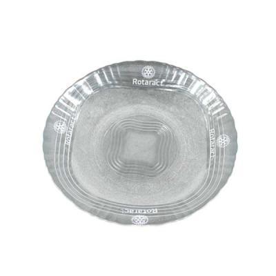 aguia-brindes-ltda - Prato Fundo De Vidro Wheaton 21cm  estampado  Produto de vidro: manuseie com cuidado. – Choques e impactos podem provocar rachaduras, quebras e conseq...