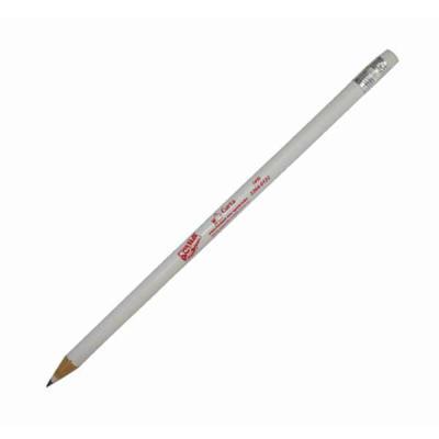 aguia-brindes-ltda - Lápis com borracha  Nas cores branco e vermelho Com estampa  18,5cm x 0,5cm