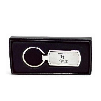 kcb-acessorios - Chaveiro de metal e couro