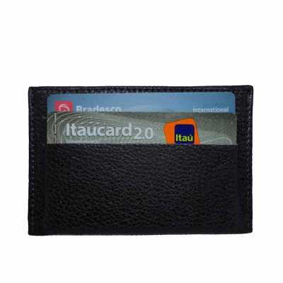 kcb-acessorios - Porta cartões de crédito e de visitas em couro
