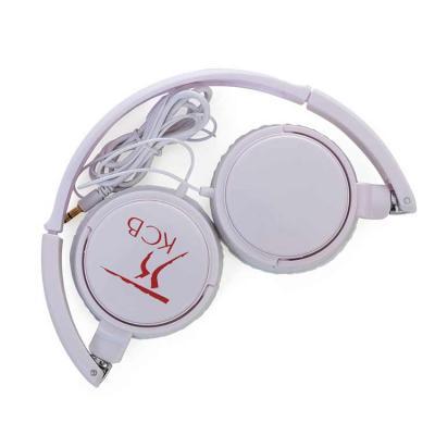 Headphone estéreo, plástico resistente com haste ajustável e fone giratório. Entrada P2, impedânc...
