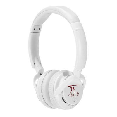 """Fone de ouvido Bluetooth preto com haste ajustável e fones giratórios, """"tiara"""" e protetor de ouvi..."""