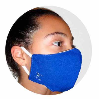 Máscara protetora facial reutilizável personalizada