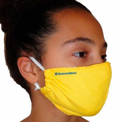 Máscara reutilizável em Oxford personalizada