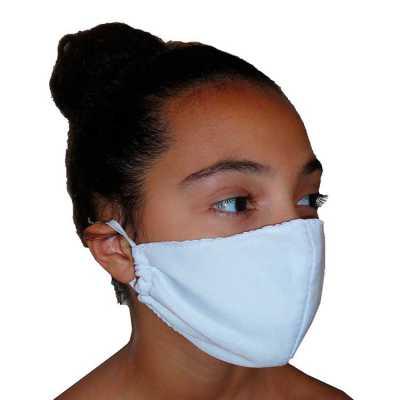 Máscara protetora facial reutilizável