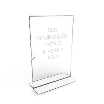 Beek Geek's Stuff - Display (Porta Panfletos) em PS Cristal