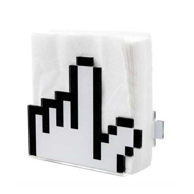 Porta Guardanapo de Acrílico Personalizado - Beek Geek's Stuff