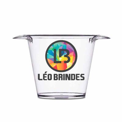leo-brindes-personalizados - Balde de Gelo Personalizado acrílico