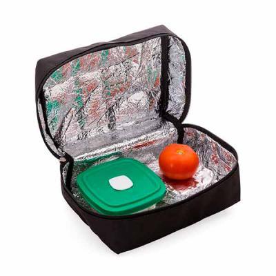 q-mais-produtos-promocionais - Necessaire térmica colorida com zíper lateral e alça superior. Material de nylon. Tamanho  (CxL):  13,5 cm x 26 cm x 18 cm Peso  (g):  100