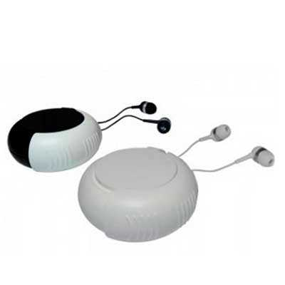 Qmais Promo - Fone de ouvido com Case/ Embalagem Caracol