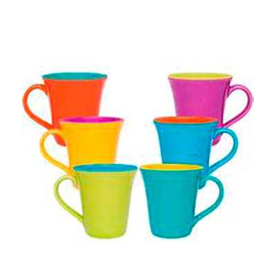 Caneca Tulipa Colorida 330ml