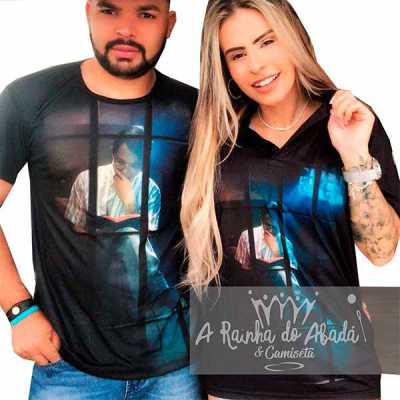 Camiseta em tecido softpowers - A Rainha do Abadá