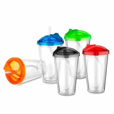 Copo plástico 500ml personalizado - Nazartes Brindes
