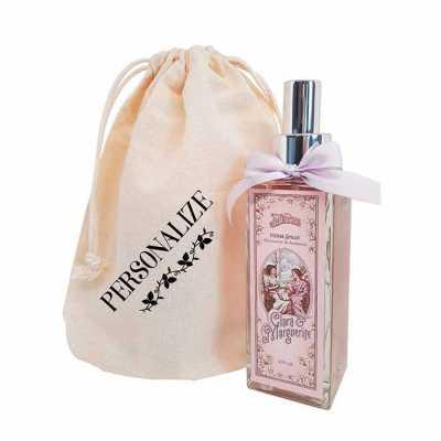 Home spray vintage Clara & Marguerite em sacolinha de algodão - De La Merche