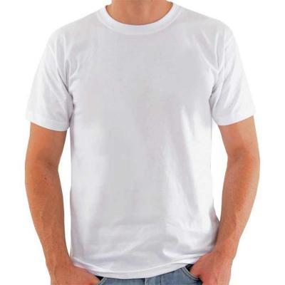 Camiseta Poliéster Masculina. Trabalhamos com diversos materiais e cores. Fabricamos com medidas ...