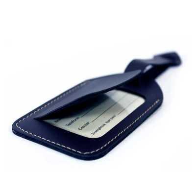 Tamanho : 7,0 X 12,5 CM Materiais disponíveis: Couro Bidins Nossos produtos são 100% personalizáv...