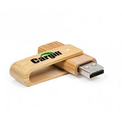 Pen drive Bambu. Capacidade: 16GB. Medida: 59 x 19 x 12 mm (Consulte gravação de acordo com o mat...