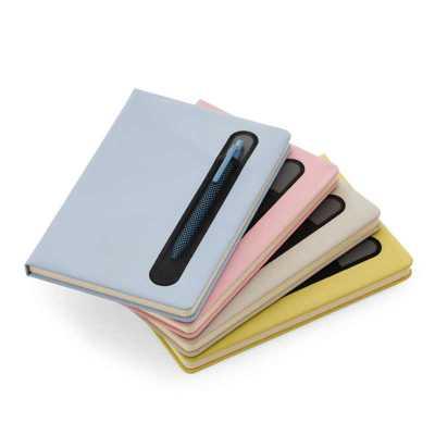 ArtPromo - Caderno de anotações com suporte para caneta