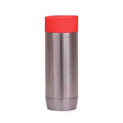 artpromo - CA8300 Caneca em aço inox parede dupla, conserva temperatura e tampa com vedação. Capacidade 450ml.