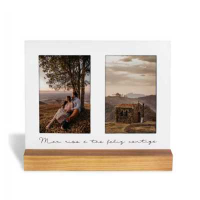 Porta-Retrato Base Pinus Meu Riso