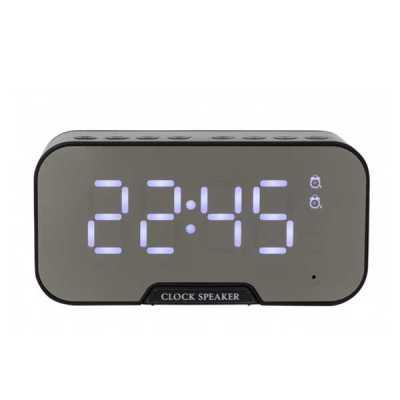 Caixa de Som Multimídia com Relógio e Suporte para Celular - ArtPromo