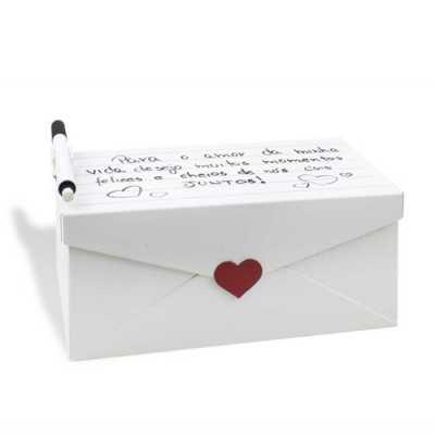 Caixa de Recordações Carta de Amor