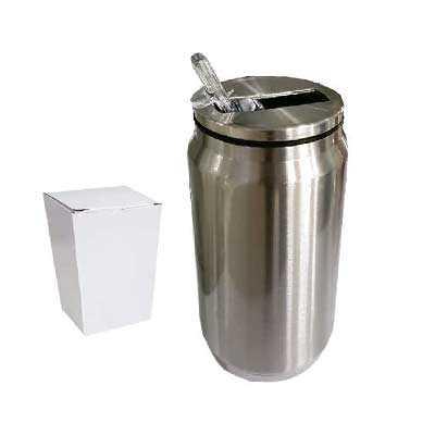 Cantil de metal 300 ml - ArtPromo
