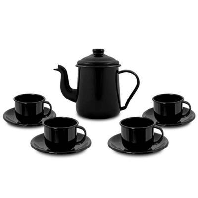 Conjunto de café com xícaras
