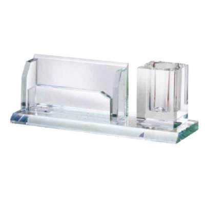 Porta-lápis de vidro