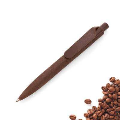 artpromo - Caneta esferográfica biodegradável com aroma de café.