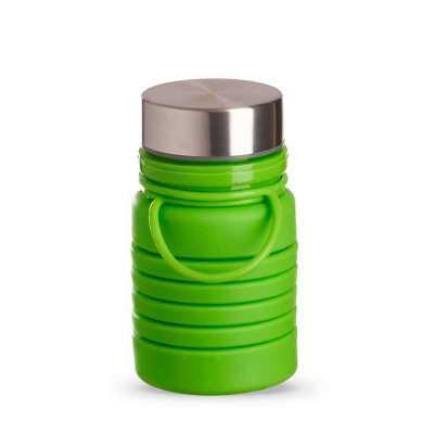 personalite-brindes - Garrafa Retrátil em silicone 600ml