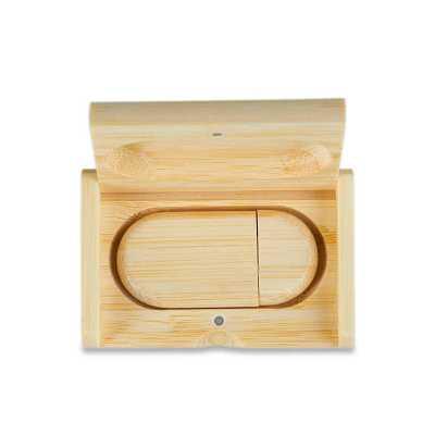 personalite-brindes - Kit pen drive em bambu