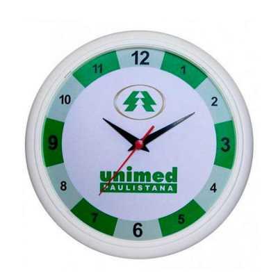 personalite-brindes - Relógio de parede personalizado com sua arte