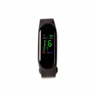 Relógio inteligente Smartwatch M3. O smartwatch é um relógio fit com sensor que monitora suas atividades do dia a dia para o controle de sua saúde, te... - Personalite Brindes